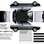 Займите своего ребенка сборкой модели бумажного автомобиля.  Большое количество моделей авто из бумаги на любой вкус...