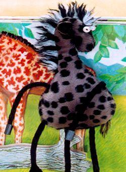 Мягкая игрушка выкройка жирафа