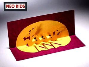 Схемы открытки - киригами из бумаги своими руками.