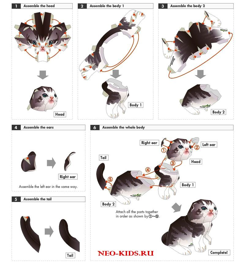 Игрушки своими руками для котенка